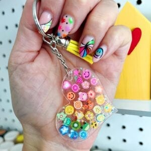 DIY Acrylic Keychains Tutorial thumbnail