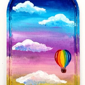 Hot Air Balloon Painting Tutorial thumbnail