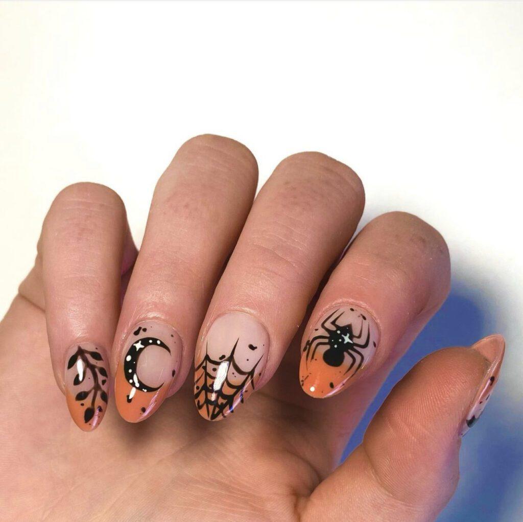 Halloween Nailsl Art